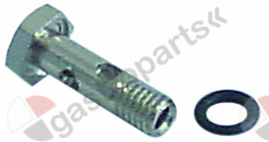 504.013, nozzle holder with O-ring