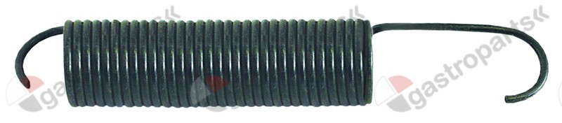 504.682, tension spring ø 50mm total length 290mm L2 165mm