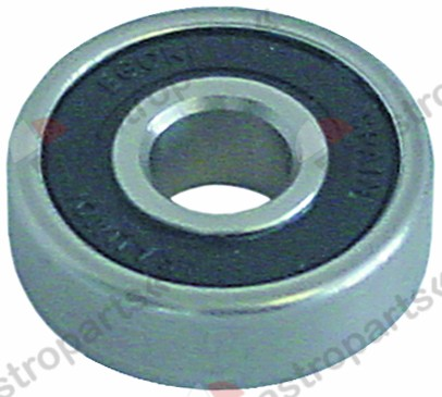 505.011, deep-groove ball bearing type DIN 6200-2RS