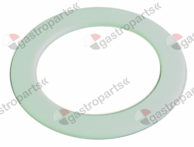 506.164, flat gasket PTFE D1 ø 57mm D2 ø 41mm thickness 2mm Qty 1 pcs