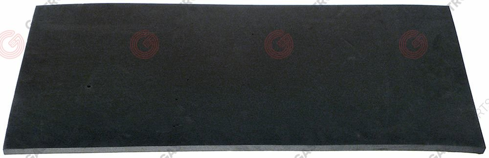 507.584, insulating mat for boiler L 668mm W 330mm thickness 13mm