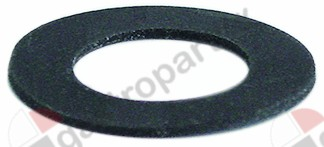 508.011, flat gasket rubber D1 ø 45mm D2 ø 26mm thickness 2mm equiv. no.
