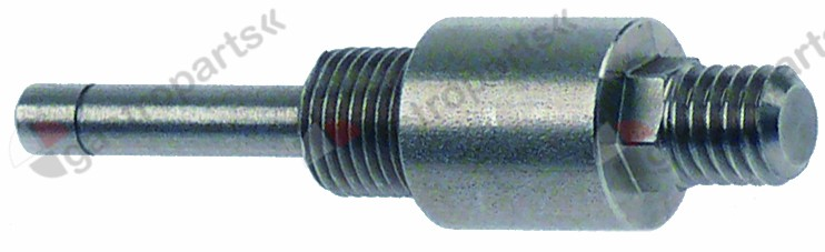 508.372, door bolt left o 4,7mm L 58mm M10 SS