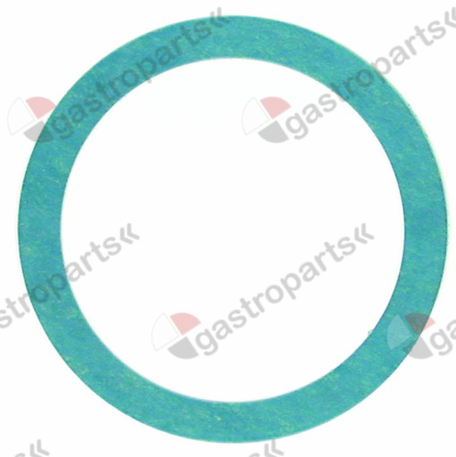 510.406, flat gasket fibre D1 ø 60mm D2 ø 48mm thickness 3mm for thread 1½