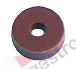 510.575, flat gasket silicone D1 o 14,5mm D2 o 4mm