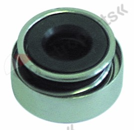510.711, mechanical shaft seal for shaft ø 10mm ED ø 24mm H 13mm