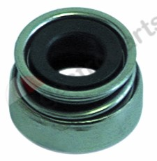 510.713, slide ring for shaft ø 12mm ED ø 24mm H 16mm