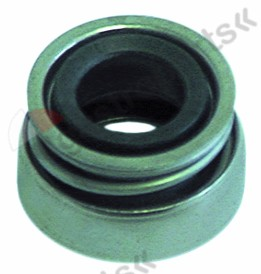 510.716, mechanical shaft seal for shaft ø 13mm ED ø 24mm H 13mm