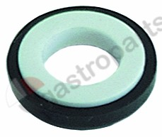 510.723, counter ring ED ø 26,5mm H 8mm ID ø 14mm for mechanical shaft seal
