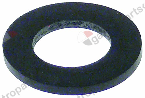 510.764, flat gasket rubber D1 ø 24mm D2 ø 12mm thickness 2mm Qty 1 pcs