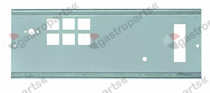 510.965, mounting plate for front panel