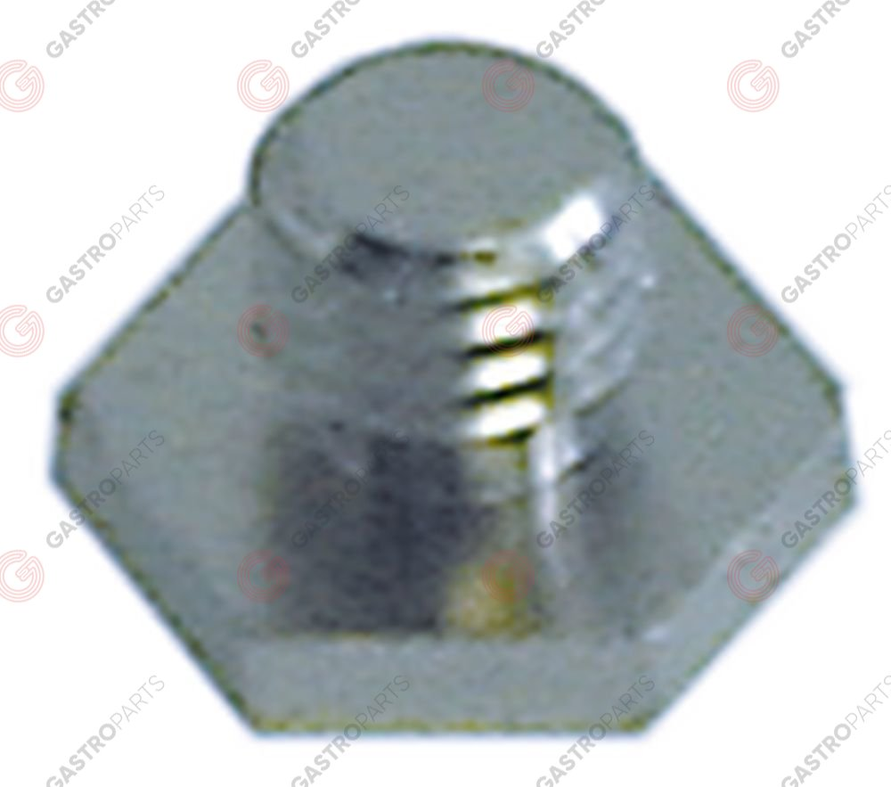 511.185, screw for wash arm support mounting pos. upper