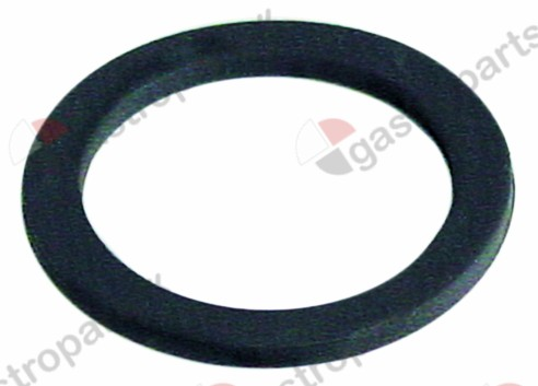 513.059, flat gasket rubber D1 ø 52mm D2 ø 40mm thickness 3mm Qty 1 pcs