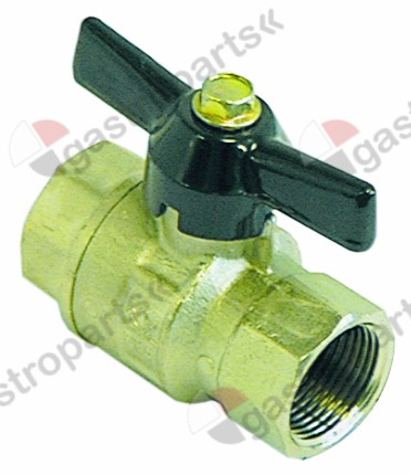 514.206, ball valve L 70mm inlet 3/4