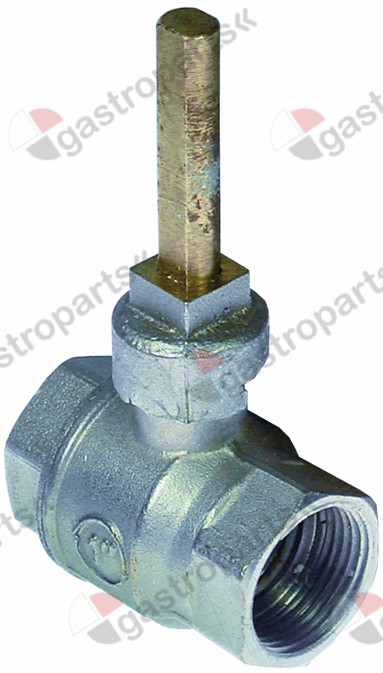 514.392, ball valve inlet 1  IT outlet 1  IT L 69mm