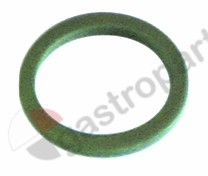 516.003, gasket graphite D1 ø 18,5mm D2 ø 14,5mm thickness 2mm Qty 1 pcs