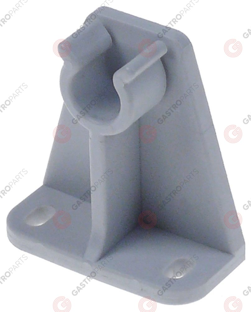 517.762, clip for wash arm L64mm W 31mm H 67mm seat o 16mm