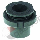 519.165, wash arm bearing mounting pos. upper/lower ø 27mm H 31mm D1 ø 31mm D2 ø 22mm ID ø 16mm