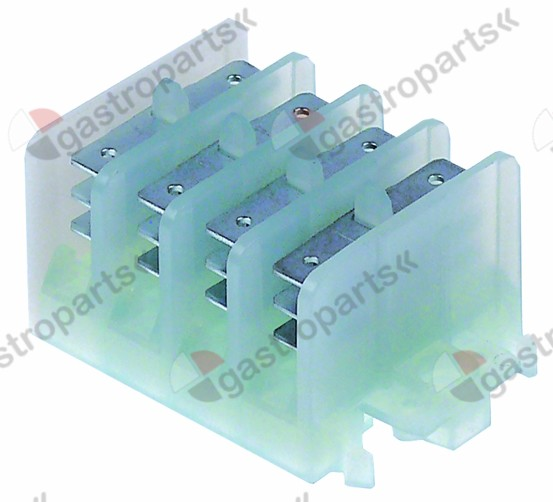 519.372, distribution terminal block 4-pole max. 17,5A