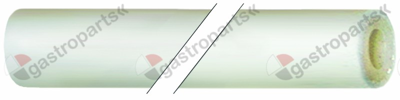 520.023, silicone hose with glass fibre sleeving ID ø 6mm ED ø 12mm L 5m thickness 3mm operating p. 4bar