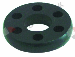 520.158, elastic coupling ø 40mm rubber