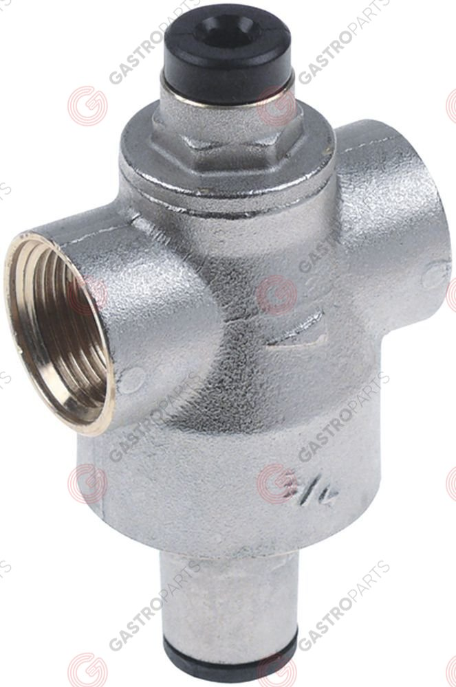 520.558, pressure reduction valve RBM series