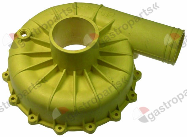 521.544, pump cover inlet ø 63mm outlet ø 50mm turn direction right ø 180mm ID ø 165mm