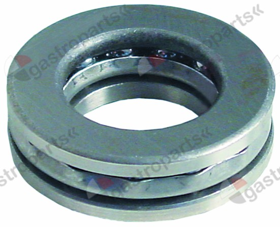 523.529, thrust ball bearing type 51205 shaft o 25mm