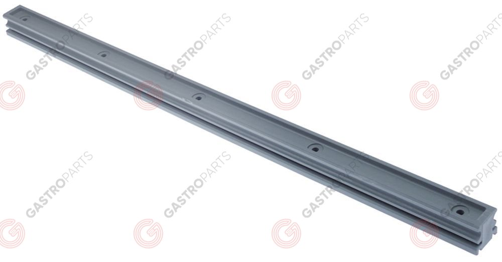 524.806, guide bar L650mm for hood mechanics W 34mm H 30mm