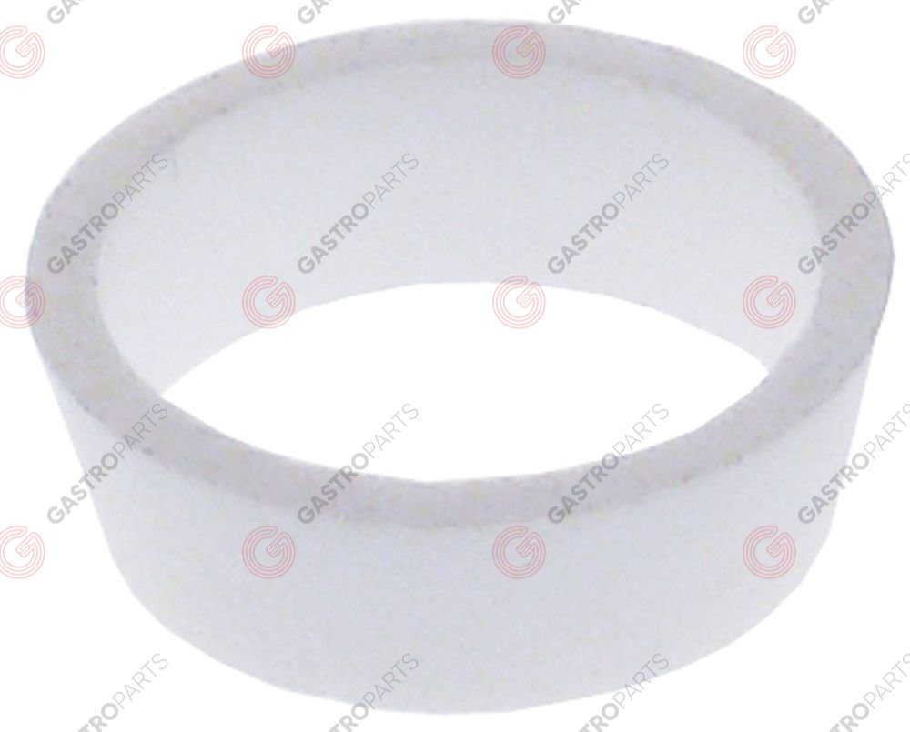 524.894, gasket for wash pipe conical o 30mm ID o 25mm