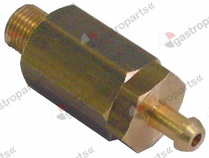527.127, expansion valve T1 1/8  ET hose connector o 5mm