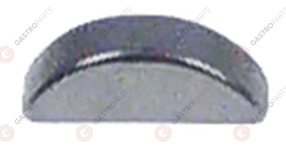 527.600, slot nut W 2 mm H 2,6 mm L 7,6 mm for dosing unit