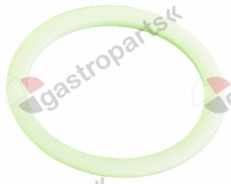 528.007, flat gasket PTFE D1 ø 50mm D2 ø 40mm thickness 2,5mm Qty 1 pcs