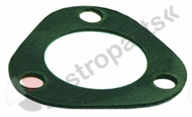 528.023, Replaced by 528340 / gasket ID ø 41mm fibre thickness 2mm hole ø 10mmhole distance 52mm for heating element