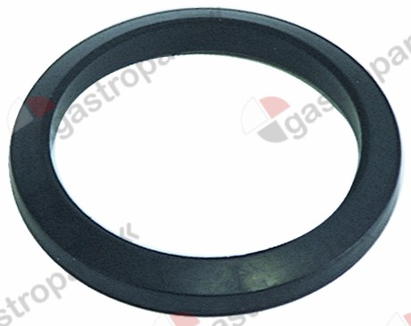 528.036, filter holder gasket with cone D1 ø 70,5mm D2 ø 56mm H1 8,9mm H2 5,8mm