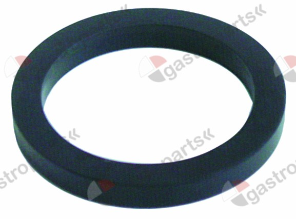 528.037, filter holder gasket D1 ø 73,8mm D2 ø 57,2mm H 9mm with inside notch