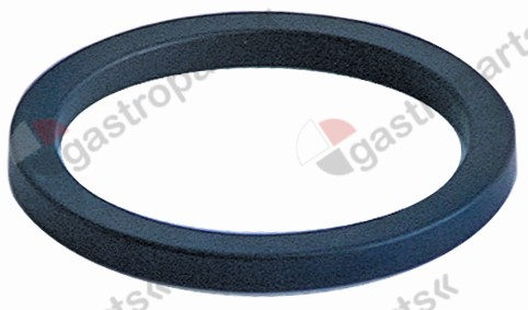 528.038, filter holder gasket D1 ø 64mm D2 ø 52,5mm H 5,5mm