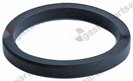 528.044, filter holder gasket D1 ø 69,5mm D2 ø 57mm H 7,5mm
