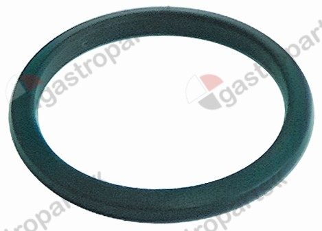 528.067, filter holder gasket with cone D1 ø 67mm D2 ø 56,5mm H1 6,4mm H2 4mm