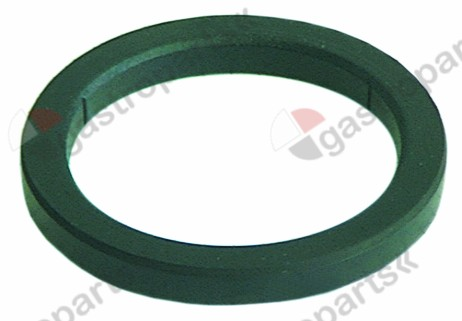 528.070, filter holder gasket D1 ø 74mm D2 ø 57,5mm H 8mm with inside notch