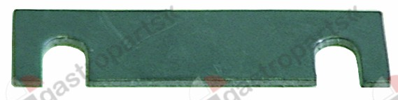 528.113, group gasket L 80mm W 23mm thickness 2mm suitable for FAEMA/FUTURMAT