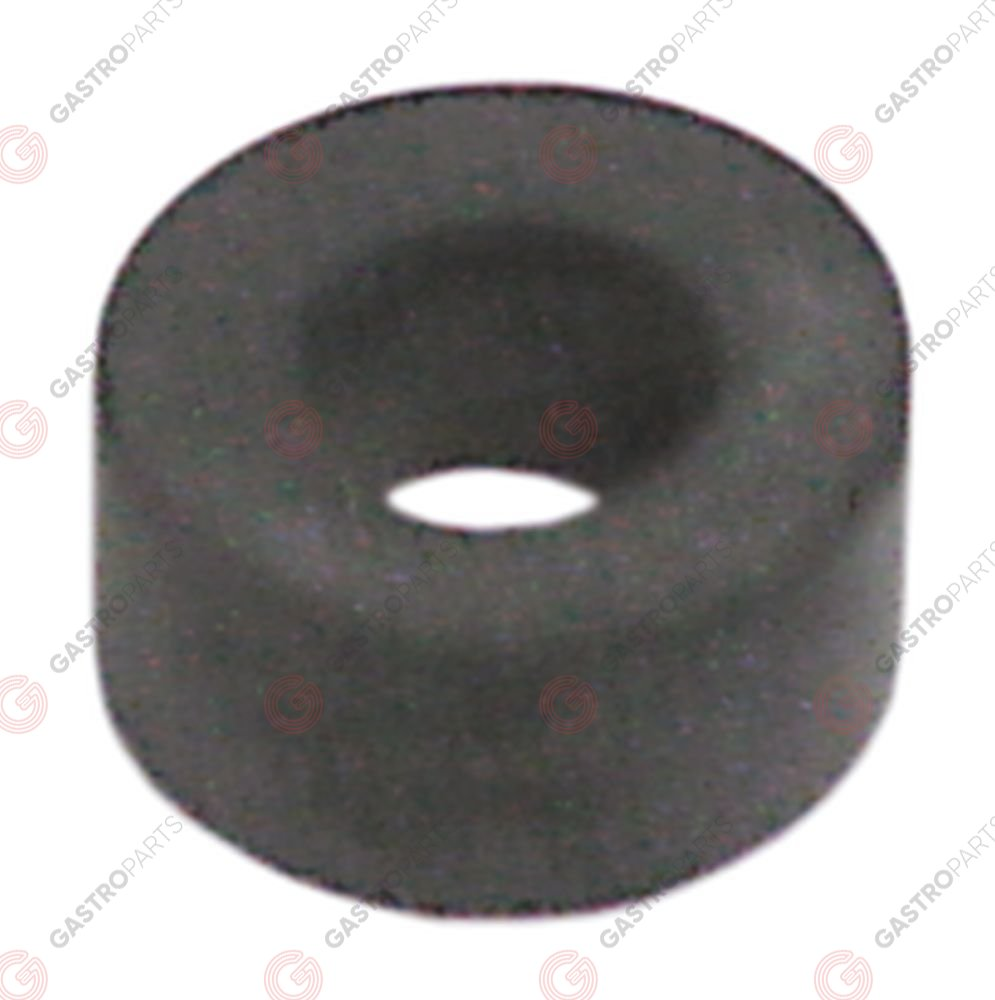 528.441, gasket rubber D1 ø 21mm D2 ø 11mm thickness 10mm for level glass pipe Qty 1 pcs