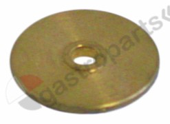 528.470, water dispersion ø 30mm H 3mm hole ø 5,5mm brass