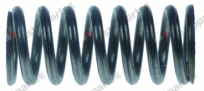 528.475, compression spring ø 14,7mm L 33mm wire gauge ø 2mm