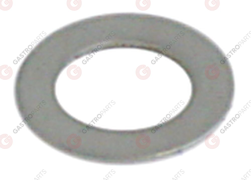 528.517, plain washer ID ø 16,2mm ED ø 21,8mm thickness 1mm Qty 1 pcs