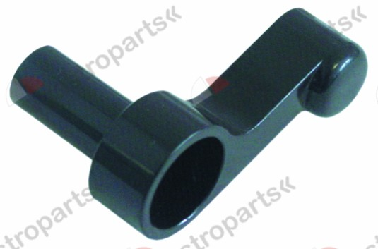 528.573, lever handle plastic black