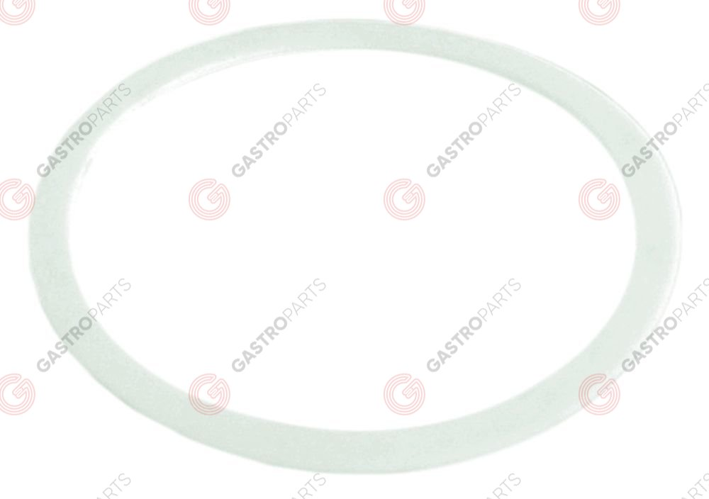 528.588, flat gasket PTFE D1 ø 40mm D2 ø 34,5mm thickness 0,5mm Qty 1 pcs suitable for FAEMA