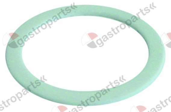 528.805, flat gasket PTFE D1 ø 68mm D2 ø 55mm thickness 2,4mm Qty 1 pcs
