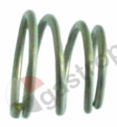 528.817, compression spring ø 20.4/15.9mm L 17mm wire gauge ø 1,7mm cone-shaped