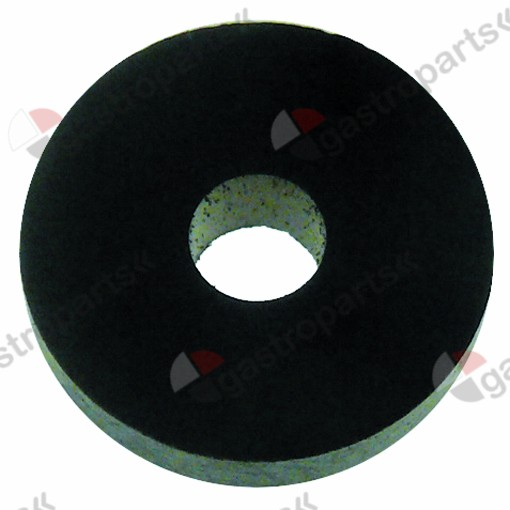 528.859, flat gasket rubber D1 ø 14mm D2 ø 4mm thickness 4mm Qty 1 pcs